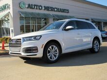 2018_Audi_Q7_3.0 Premium Plus Quattro  LEATHER, POWER FOLDING 3RD ROW SEATING, NAVIGATION, BACK-UP CAMERA_ Plano TX