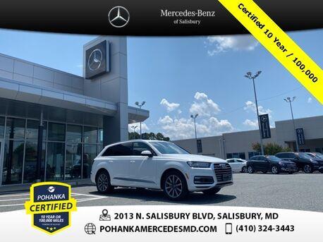 2018_Audi_Q7_3.0T Premium Plus quattro ** Pohanka Certified 10 Year / 100,000  **_ Salisbury MD
