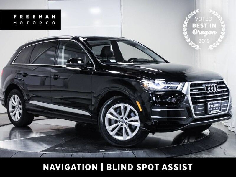 2018 Audi Q7 Premium Plus quattro Nav Back-Up Cam 3rd Row Seat Portland OR