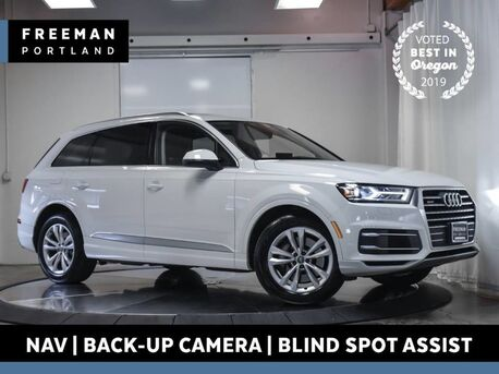 2018_Audi_Q7_Premium Plus quattro Nav Blind Spot Assist 3rd Row_ Portland OR