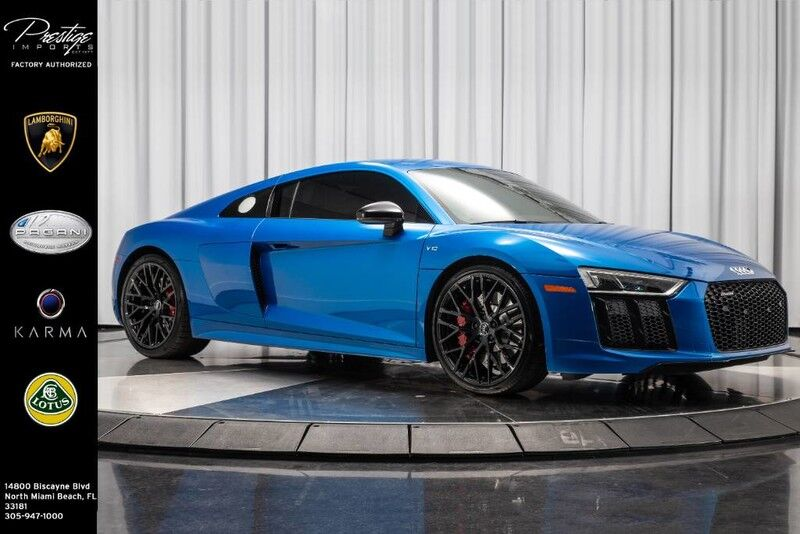 2018_Audi_R8 Coupe RWS 1 OF 999_V10_ North Miami Beach FL