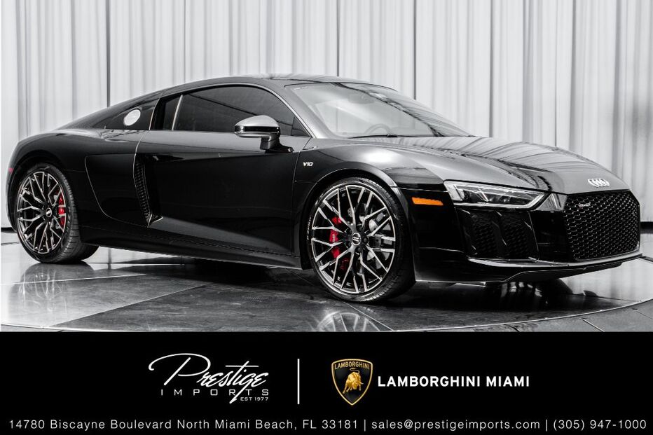 2018_Audi_R8 Coupe_V10_ North Miami Beach FL