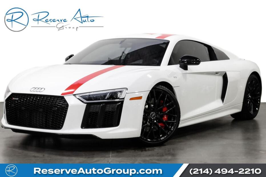 2018_Audi_R8 Coupe_V10 RWS Edition Premium Pkg CarbonFiber_ The Colony TX