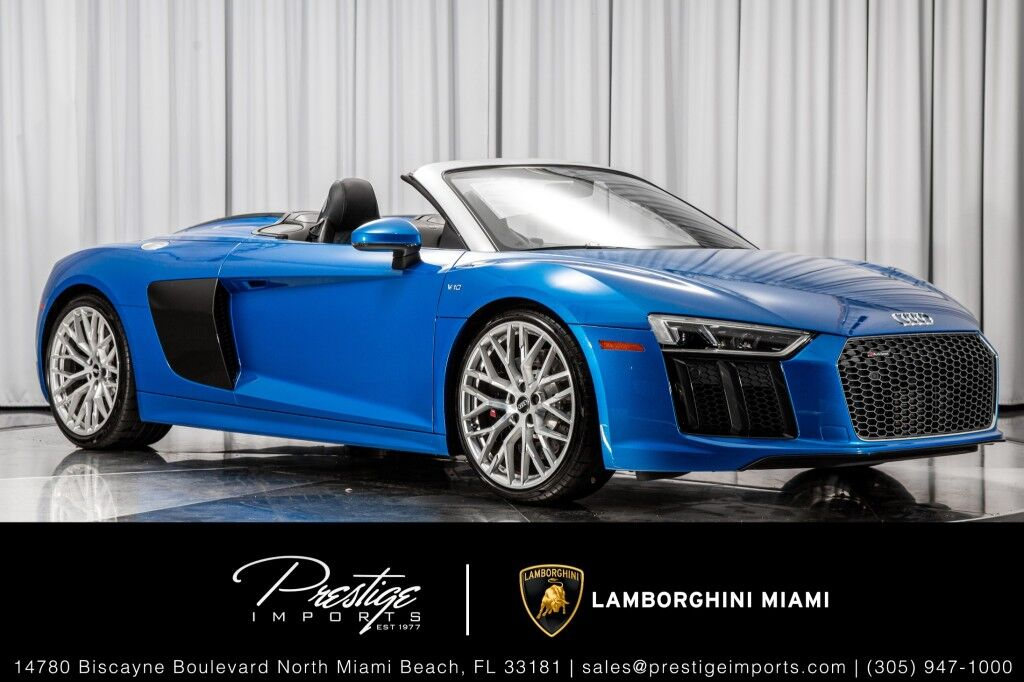 2018 Audi R8 Spyder V10 North Miami Beach FL