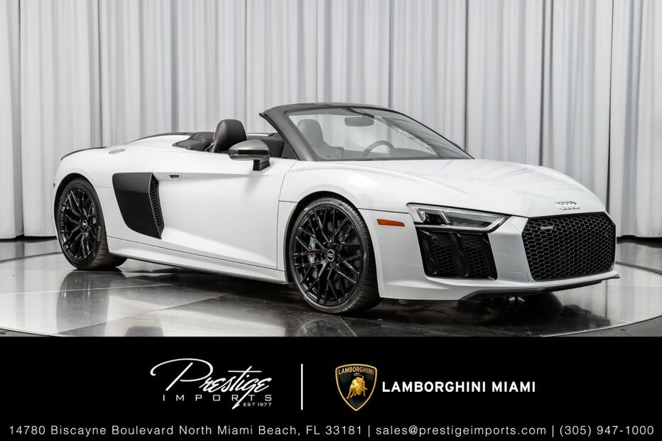 2018_Audi_R8 Spyder_V10 plus_ North Miami Beach FL
