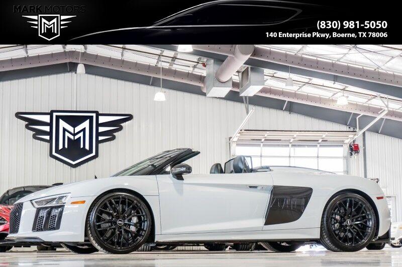 2018_Audi_R8_V10 plus Spyder_ Boerne TX