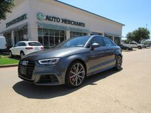 2018_Audi_S3_2.0T Premium Plus quattro *****MSRP $52,955.00, Technology Package, Black Optic Dynamic Package_ Plano TX