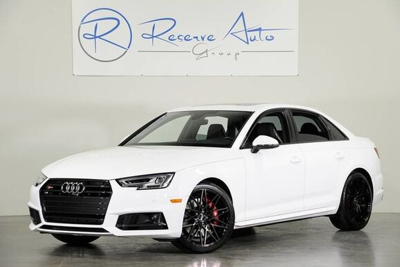 2018_Audi_S4_Prestige S Sport Driver Asst Pkg Black Optic Pkg_ The Colony TX