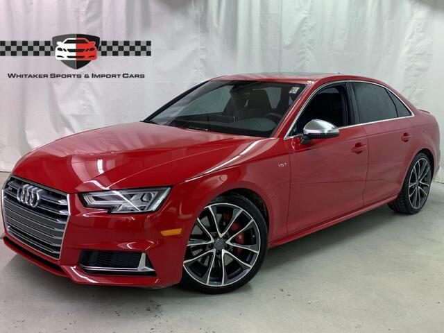 2018 Audi S4 Quattro Premium Plus S Sport Navigation Nappa Leather Maplewood MN