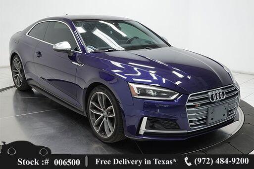 2018_Audi_S5_3.0T Prestige NAV,CAM,PANO,HTD STS,BLIND SPOT_ Plano TX