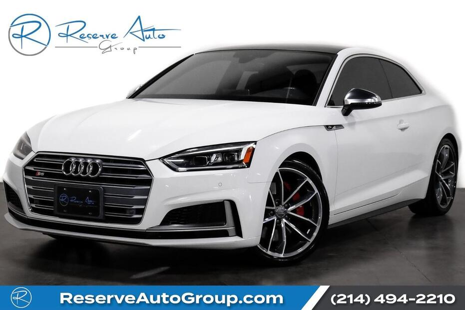 2018_Audi_S5 Coupe_Premium Plus S Sport Pkg B&O Sound CarbonTrim Navigation_ The Colony TX