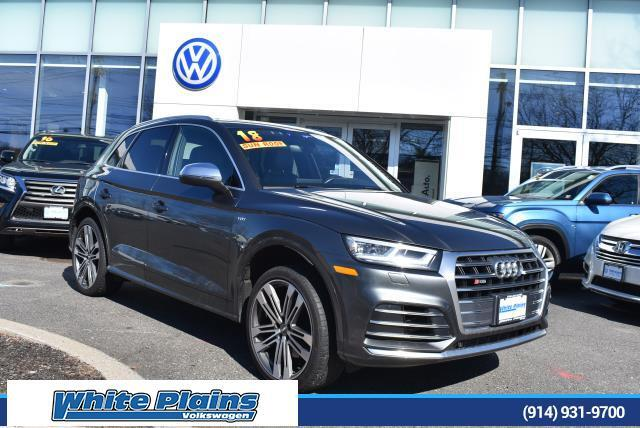 2018 Audi SQ5 3.0 TFSI Premium Plus White Plains NY