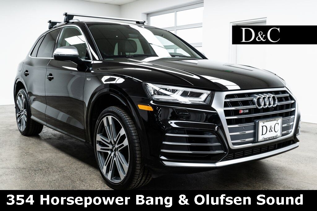 2018 Audi SQ5 3.0T Premium Plus quattro 354 Horsepower Bang & Olufsen Sound Portland OR