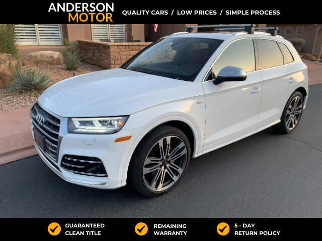 2018 Audi SQ5 3.0T Prestige quattro Salt Lake City UT