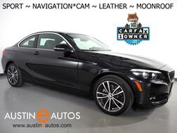 2018_BMW_2 Series 230i Coupe_*SPORT LINE, NAVIGATION, BACKUP-CAMERA, MOONROOF, DAKOTA LEATHER, HEATED SEATS, COMFORT ACCESS, SATELLITE RADIO, BLUETOOTH PHONE & AUDIO_ Round Rock TX