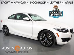 2018_BMW_2 Series 230i Coupe_*SPORT LINE, NAVIGATION, BACKUP-CAMERA, MOONROOF, DAKOTA LEATHER, HEATED SEATS,/STEERING WHEEL, COMFORT ACCESS, WIRELESS CHARGING, APPLE CARPLAY_ Round Rock TX