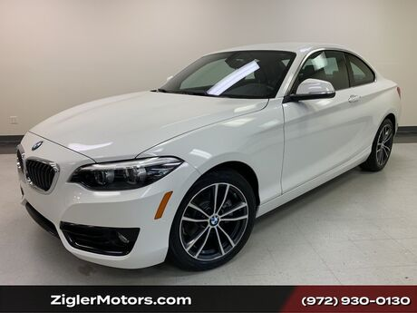 2018 BMW 2 Series 230i Coupe Sport Line One Owner Clean Carfax Perfect. Addison TX