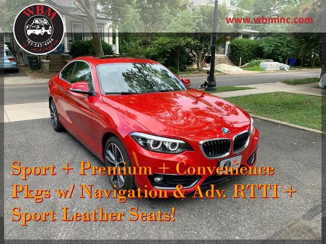 2018 BMW 230i xDrive Coupe Arlington VA
