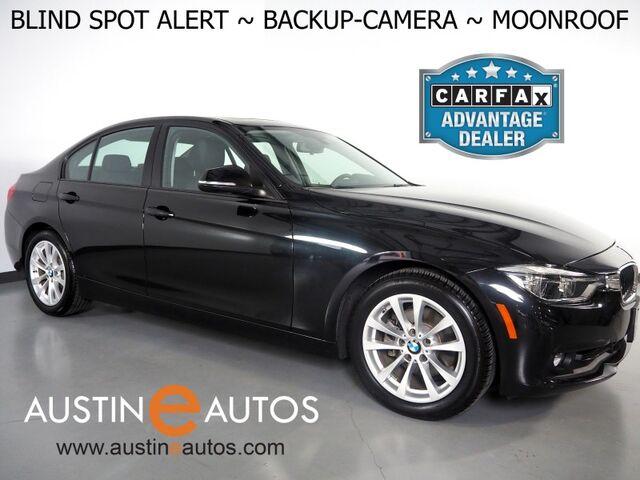2018 BMW 3 Series 320i Sedan *BLIND SPOT ALERT, BACKUP-CAMERA, MOONROOF, HEATED FRONT SEATS, STEERING WHEEL CONTROLS, ALLOY WHEELS, BLUETOOTH PHONE & AUDIO Round Rock TX