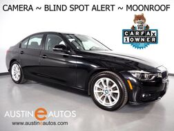 2018_BMW_3 Series 320i Sedan_*BLIND SPOT ALERT, BACKUP-CAMERA, MOONROOF, HEATED SEATS, CRUISE CONTROL, ALLOY WHEELS, BLUETOOTH PHONE & AUDIO_ Round Rock TX