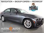2018 BMW 3 Series 320i Sedan *NAVIGATION, BACKUP-CAMERA, MOONROOF, HEATED FRONT SEATS, STEERING WHEEL CONTROLS, ALLOY WHEELS, BLUETOOTH PHONE & AUDIO