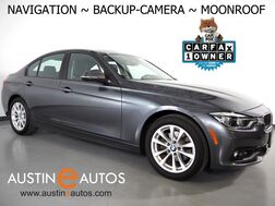 2018_BMW_3 Series 320i Sedan_*NAVIGATION, BACKUP-CAMERA, MOONROOF, HEATED FRONT SEATS, STEERING WHEEL CONTROLS, ALLOY WHEELS, BLUETOOTH PHONE & AUDIO_ Round Rock TX