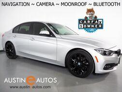2018_BMW_3 Series 320i Sedan_*NAVIGATION, BACKUP-CAMERA, MOONROOF, HEATED SEATS, COMFORT ACCESS, STEERING WHEEL CONTROLS, 18 INCH BLACK ALLOYS, BLUETOOTH PHONE & AUDIO_ Round Rock TX
