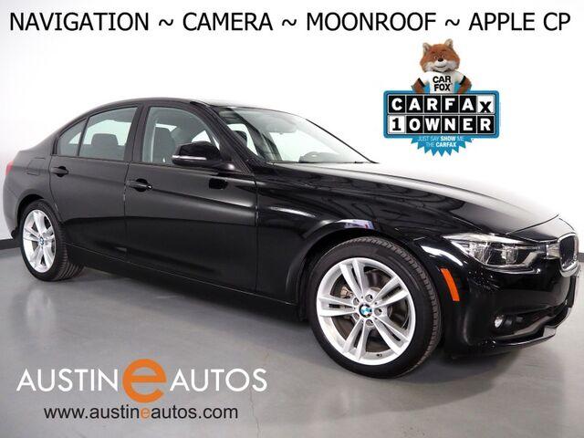 2018 BMW 3 Series 320i Sedan *NAVIGATION, BACKUP-CAMERA, MOONROOF, STEERING WHEEL CONTROLS, 18 INCH SPORT WHEELS, BLUETOOTH PHONE & AUDIO, APPLE CARPLAY Round Rock TX