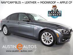 2018_BMW_3 Series 320i Sedan_*NAVIGATION, BLIND SPOT ALERT, BACKUP-CAMERA, MOONROOF, DAKOTA LEATHER, HEATED SEATS, COMFORT ACCESS, BLUETOOTH, APPLE CARPLAY_ Round Rock TX