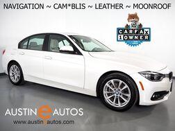 2018_BMW_3 Series 320i Sedan_*NAVIGATION, BLIND SPOT ALERT, BACKUP-CAMERA, MOONROOF, DAKOTA LEATHER, HEATED SEATS, COMFORT ACCESS, BLUETOOTH PHONE & AUDIO_ Round Rock TX
