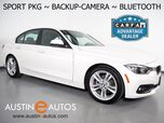 2018 BMW 3 Series 320i Sedan *SPORT PACKAGE, BACKUP-CAMERA, MOONROOF, HEATED FRONT SPORT BUCKET SEATS, LED HEADLIGHTS, BLUETOOTH PHONE & AUDIO