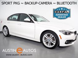 2018_BMW_3 Series 320i Sedan_*SPORT PACKAGE, BACKUP-CAMERA, MOONROOF, HEATED FRONT SPORT BUCKET SEATS, LED HEADLIGHTS, BLUETOOTH PHONE & AUDIO_ Round Rock TX