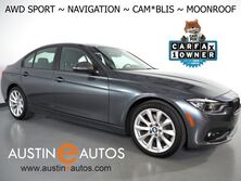 BMW 3 Series 320i xDrive AWD *SPORT PACKAGE, NAVIGATION, BLIND SPOT ALERT, BACKUP-CAMERA, MOONROOF, HEATED SPORT SEATS, HEATED SPORT STEERING WHEEL, 18 INCH ALLOYS, BLUETOOTH PHONE & AUDIO 2018