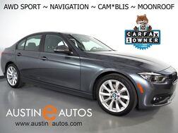 2018_BMW_3 Series 320i xDrive AWD_*SPORT PACKAGE, NAVIGATION, BLIND SPOT ALERT, BACKUP-CAMERA, MOONROOF, HEATED SPORT SEATS, HEATED SPORT STEERING WHEEL, 18 INCH ALLOYS, BLUETOOTH PHONE & AUDIO_ Round Rock TX