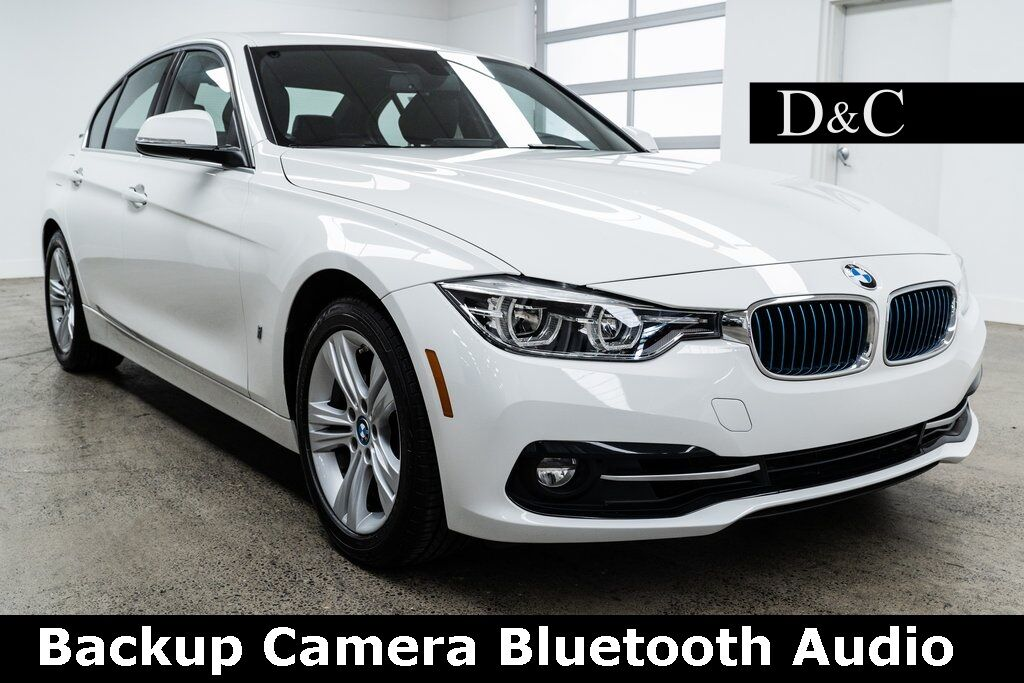 2018 BMW 3 Series 330e iPerformance Backup Camera Bluetooth Audio Portland OR