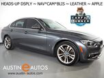 2018 BMW 3 Series 330e iPerformance Plug-In Hybrid *LUXURY LINE, HEADS-UP DISPLAY, NAVIGATION, BLIND SPOT ALERT, BACKUP-CAMERA, DAKOTA LEATHER, HEATED SEATS, MOONROOF, COMFORT ACCESS, APPLE CARPLAY