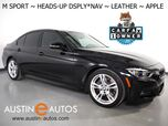 2018 BMW 3 Series 330e iPerformance Plug-In Hybrid *M SPORT PACKAGE, HEADS-UP DISPLAY, NAVIGATION, BACKUP-CAMERA, DAKOTA LEATHER, HEATED SEATS, MOONROOF, COMFORT ACCESS, APPLE CARPLAY