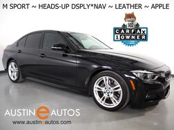 2018_BMW_3 Series 330e iPerformance Plug-In Hybrid_*M SPORT PACKAGE, HEADS-UP DISPLAY, NAVIGATION, BACKUP-CAMERA, DAKOTA LEATHER, HEATED SEATS, MOONROOF, COMFORT ACCESS, APPLE CARPLAY_ Round Rock TX