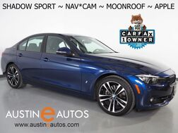 2018_BMW_3 Series 330e iPerformance Plug-In Hybrid_*SHADOW SPORT EDITION, NAVIGATION, BLIND SPOT ALERT, BACKUP-CAMERA, MOONROOF, HEATED SEATS, COMFORT ACCESS, APPLE CARPLAY_ Round Rock TX