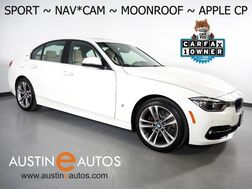 2018_BMW_3 Series 330e iPerformance Plug-In Hybrid_*SPORT LINE, NAVIGATION, BACKUP-CAMERA, MOONROOF, HEATED SEATS, COMFORT ACCESS, BLUETOOTH PHONE & AUDIO, APPLE CARPLAY_ Round Rock TX