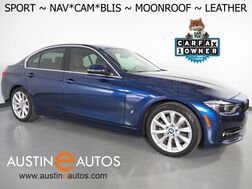 2018_BMW_3 Series 330e iPerformance Plug-In Hybrid_*SPORT LINE, NAVIGATION, BLIND SPOT ALERT, BACKUP-CAMERA, MOONROOF, LEATHER, HEATED SEATS/STEERING WHEEL, COMFORT ACCESS_ Round Rock TX