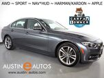 2018 BMW 3 Series 330i AWD xDrive *SPORT LINE, HEADS-UP DISPLAY, NAVIGATION, BLIND SPOT ALERT, BACKUP-CAMERA, HARMAN/KARDON, MOONROOF, DAKOTA LEATHER, HEATED SEATS/STEERING WHEEL, APPLE CARPLAY