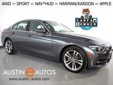 BMW 3 Series 330i AWD xDrive *SPORT LINE, HEADS-UP DISPLAY, NAVIGATION, BLIND SPOT ALERT, BACKUP-CAMERA, HARMAN/KARDON, MOONROOF, DAKOTA LEATHER, HEATED SEATS/STEERING WHEEL, APPLE CARPLAY 2018