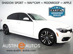 2018_BMW_3 Series 330i Sedan_*SHADOW SPORT EDITION, NAVIGATION, BACKUP-CAMERA, MOONROOF, HEATED SPORT SEATS, COMFORT ACCESS, BLUETOOTH, APPLE CARPLAY_ Round Rock TX