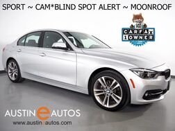 2018_BMW_3 Series 330i Sedan_*SPORT LINE, BLIND SPOT ALERT, BACKUP-CAMERA, MOONROOF, HEATED SPORT BUCKET SEATS, PARK DISTANCE CONTROL, BLUETOOTH PHONE & AUDIO_ Round Rock TX