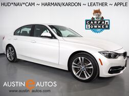2018_BMW_3 Series 330i Sedan_*SPORT LINE, HEADS-UP DISPLAY, NAVIGATION, BACKUP-CAMERA, MOONROOF, DAKOTA LEATHER, HEATED SEATS, HARMAN/KARDON, APPLE CARPLAY_ Round Rock TX