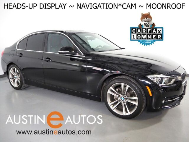 2018 BMW 3 Series 330i Sedan *SPORT LINE, HEADS-UP DISPLAY, NAVIGATION, BACKUP-CAMERA, MOONROOF, HEATED SEATS, COMFORT ACCESS, BLUETOOTH PHONE & AUDIO Round Rock TX
