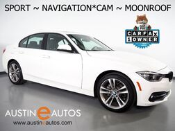 2018_BMW_3 Series 330i Sedan_*SPORT LINE, NAVIGATION, BACKUP-CAMERA, MOONROOF, COMFORT ACCESS, HEATED SEATS, PARK DISTANCE CONTROL, BLUETOOTH PHONE & AUDIO_ Round Rock TX