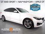 2018 BMW 3 Series 330i xDrive Gran Turismo *SPORT, HEADS-UP DISPLAY, BLIND SPOT ALERT, DRIVING ASSISTANT, NAVIGATION, BACKUP-CAMERA, PANORAMA MOONROOF, LEATHER, HEATED SEATS, APPLE CARPLAY