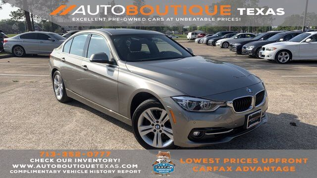 2018 BMW 3 Series 330i xDrive Houston TX
